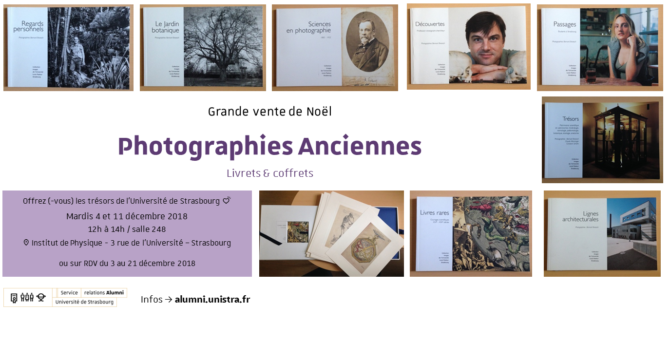 Vente de Noël : Collection images de l'Université - Photographies anciennes
